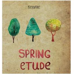 фото Тетрадь в клетку Kroyter Spring Etude