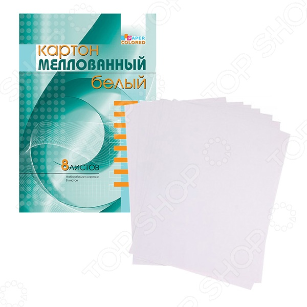 Набор картона белого Бриз 1126-125