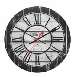 фото Часы настенные Вега А 1-18 «Древние доски»