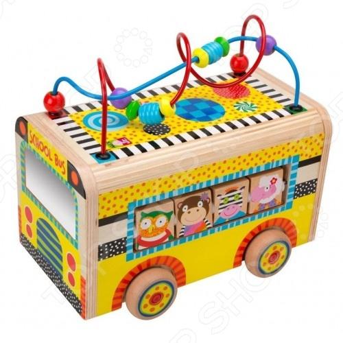 Центр развивающий Alex «Веселый автобус»