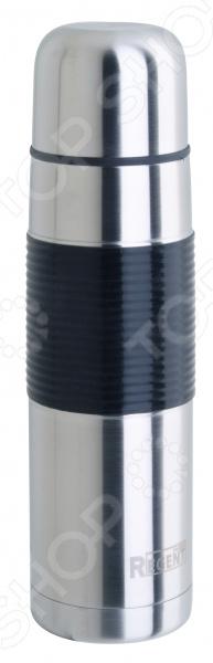 Термос в оплетке Regent 93-TE-B-2Термосы и термокружки<br>Термос в оплетке Regent 93-TE-B-2 качественное и практичное изделие из нержавеющей стали. Этот материал обладает огромным количеством преимуществ, в том числе высокой прочностью и устойчивостью к механическим воздействиям. Сталь не содержит вредных для здоровья компонентов, не искажает вкус и запах напитков. Термос будет очень полезен в быту, а также во время пикников или походов. Благодаря двойным стенкам температура жидкости будет длительное время сохраняться неизменной. А завинчивающаяся крышка и колба с резиновой прокладкой предотвратят выливание содержимого. Наличие резиновой вставки делает использование термоса еще более комфортным и удобным. Изделие можно очищать как вручную, так и в посудомоечной машине.<br>