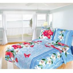 фото Комплект постельного белья Олеся «Лилия». 1,5-спальный