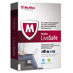 Купить Антивирусное программное обеспечение McAfee LiveSafe. Promo Box