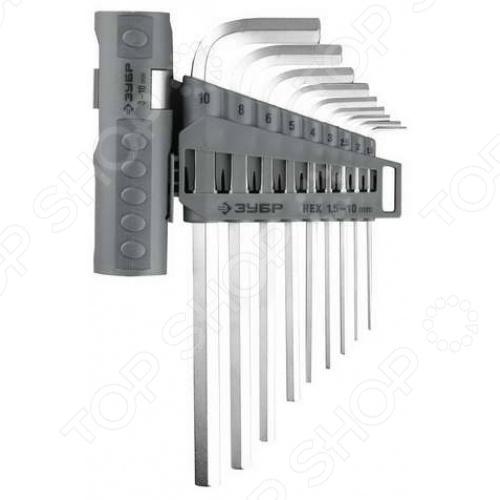 Набор ключей имбусовых длинных Зубр «Эксперт» 2745-3-1_z01 набор отверток зубр эксперт 25288 h38
