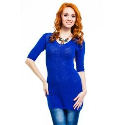фото Туника Mondigo 9888. Цвет: темно-синий. Размер одежды: 44