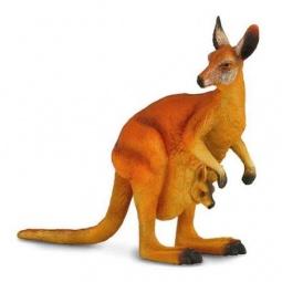 фото Фигурка-игрушка Collecta «Красный кенгуру»