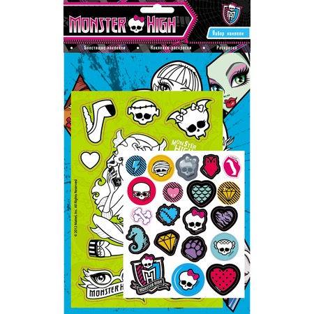 Купить Monster High. Набор наклеек