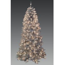 фото Ель искусственная Holiday Classics «Дакота». Высота: 183 см. Количество лампочек: 350