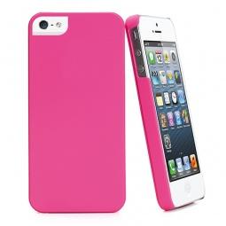 фото Чехол Muvit iGum для iPhone 5 Soft Touch. Цвет: розовый