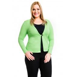 фото Жакет Mondigo XL 426. Цвет: салатовый. Размер одежды: 52
