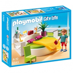 Купить Конструктор игровой Playmobil «Особняки: Современная спальня»