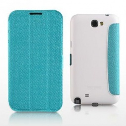 фото Чехол для Samsung Galaxy Note 2 N7100 Yoobao Fashion Case. Цвет: голубой