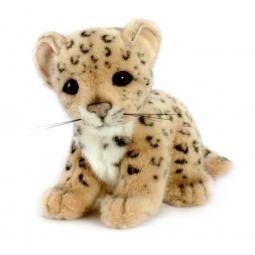 фото Мягкая игрушка для ребенка Hansa «Детеныш леопарда»