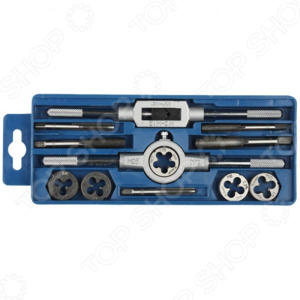 Набор резьбонарезного инструмента Зубр «Мастер» 28121-H12 набор метчиков и плашек 40шт кобальт 010301 40