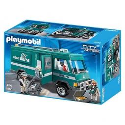 фото Конструктор игровой Playmobil «Полиция: Инкассаторский автомобиль»
