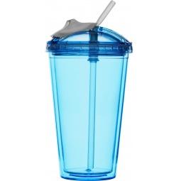 фото Кружка для смузи Sagaform Fresh. Цвет: синий