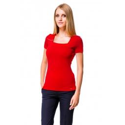 фото Футболка Mondigo 6074. Цвет: красный. Размер одежды: 44