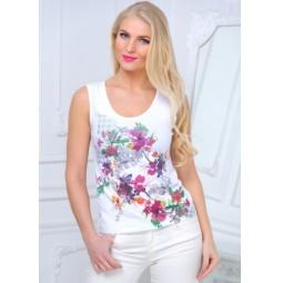 фото Майка женская BeGood SS15-UER-LTP-883. Цвет: белый. Размер одежды: 44
