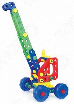 Конструктор для малышей Класата «Подъемный кран ВИРРА»Конструкторы для малышей<br>Конструктор для малышей Класата Подъемный кран ВИРРА прекрасный подарок для маленького конструктора! Комплект содержит детали, с помощью которых можно собрать интересную модель для игры. Все детали выполнены из нетоксичных материалов, поэтому полностью безопасны для ребенка. Игровой набор не только развлекает, но и помогает развивать мелкую моторику рук, логическое мышление и воображение ребенка.<br>