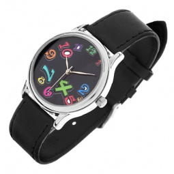 фото Часы наручные Mitya Veselkov «Нет времени». Цвет: черный