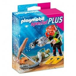 фото Набор фигурок к игровому конструктору Playmobil «Дополнение: Водолаз в поисках сокровищ»