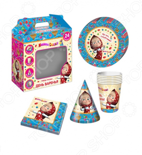 Набор посуды игрушечный Росмэн «Машины сказки» 28591