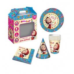 фото Набор посуды игрушечный Росмэн «Машины сказки» 28591