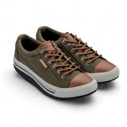 Купить Кеды Walkmaxx Comfort 2.0. Цвет: оливковый