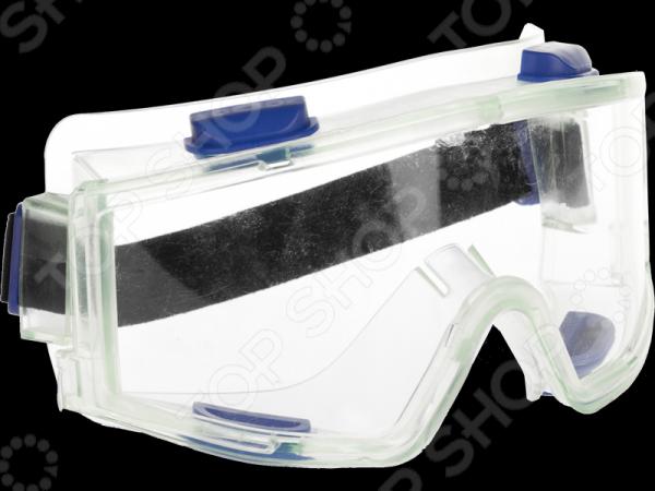 Очки защитные Зубр «Эксперт» 110230Безопасность работ<br>Очки защитные Зубр Эксперт 110230 самый необходимый предмет для защиты ваших глаз от пыли, осколков, стружки и прочих строй материалов, которые могут образоваться в процессе работы. Очки защитные закрытого типа с непрямой вентиляцией. Удобная оправа не будет создавать неудобств даже при длительном использовании.<br>