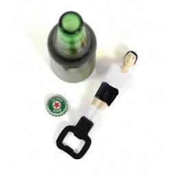 фото Открывалка для бутылок Doiy Football. Цвет: белый