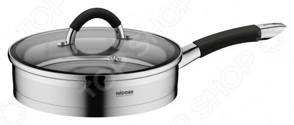 Сковорода с крышкой Nadoba Olina форма для 6 маффинов 29 4х21х3 5 см nadoba rada 761016