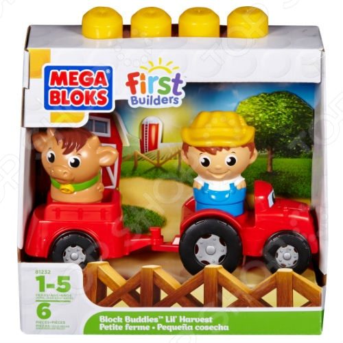 Мини-конструктор Mega Bloks First Builders. В ассортименте