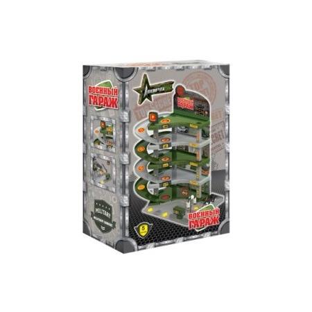Купить Набор игровой для мальчика Нордпласт «Гараж военный»