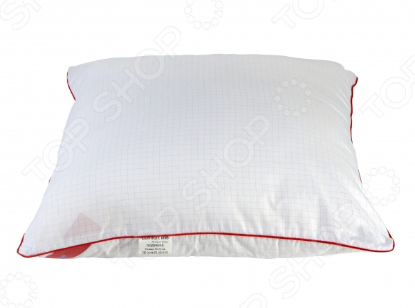 Подушка Comfort Line «Антистресс»Классические подушки<br>Подушка Comfort Line Антистресс несомненно станет замечательной покупкой для всех тех, кто ценит натуральные материалы, высокое качество и непревзойденный комфорт в своей спальне. Эта подушка подарит вам ощущение потрясающей легкости и мягкости. Наполненная качественным наполнителем, выполненная из полиэстера, подушка обеспечит вам крепкий здоровый сон, так необходимый для полноценного отдыха современному человеку. Инновационная ткань из микроволокна и карбоновой нити способна снимать и отводить статическое электричество. Кроме того, одеяло невероятно мягкое и приятное на ощупь благодаря уникальному эффекту отделки пич-скин . Если вы никогда не спали под одеялом такого типа, то вы должны знать, что материал объединяет свойства хлопка и полиэфира. Ткань антристресс это не миф, а действенный способ справиться с усталостью, болью в мышцах и плохим настроением. Можно отметить удивительные качества одеяла:  прочность;  экологическая чистоа;  гипоаллергенность;  гигиеничность. Ткань содержит углерод и серебряные нити. Соприкасаясь с телом человека, эта ткань расслабляет мышцы и регулирует биоток.<br>