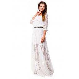 фото Платье Mondigo 5344. Цвет: кремовый. Размер одежды: 46