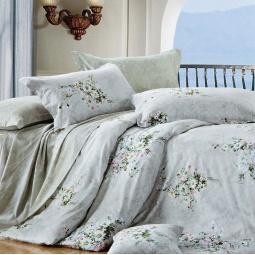фото Комплект постельного белья Amore Mio Buket. Provence. 2-спальный