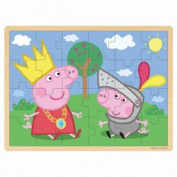 Купить Пазл деревянный Peppa Pig «Пеппа и Джордж»