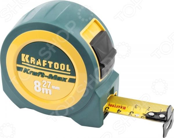 Рулетка Kraftool 34127-08-27 рулетка kraftool pro 34127 05 27