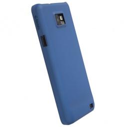 фото Чехол для Krusell ColorCover для Samsung I9100 Galaxy S II. Цвет: синий