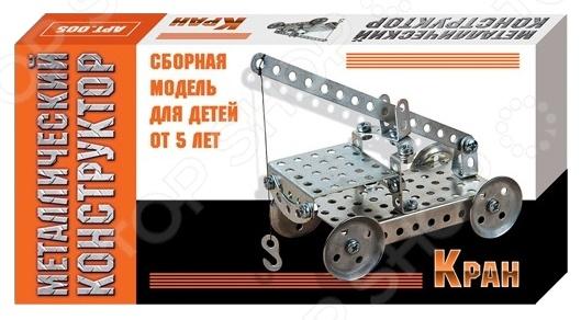 Конструктор металлический Десятое королевство «Кран» экономичность и энергоемкость городского транспорта