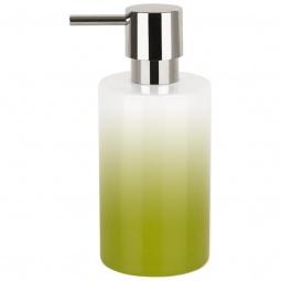 фото Диспенсер для жидкого мыла Spirella Tube Gradient. Цвет: зеленый