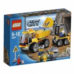 фото Конструктор LEGO Погрузчик и самосвал