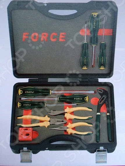 Набор губцевого инструмента и отверток Force F-51112