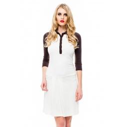 фото Платье Mondigo 8668. Цвет: молочный. Размер одежды: 44