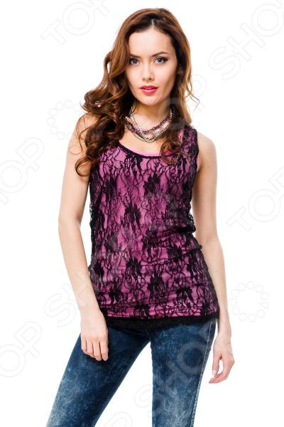 Майка Mondigo 8641. Цвет: темно-розовый