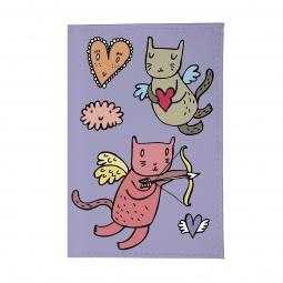фото Обложка для паспорта Mitya Veselkov «Коты-амуры»