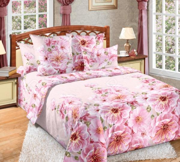 Комплект постельного белья Королевское Искушение «Миндаль». Ткань: перкаль комплект постельного белья королевское искушение комплимент ткань перкаль