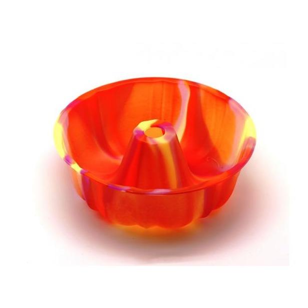 фото Форма для выпечки силиконовая Atlantis «Шарлотка» SC-BK-002M. Цвет: оранжевый