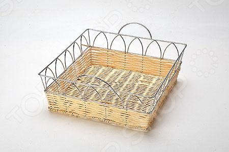 Хлебница плетёная Mayer&Boch MB-20937 4237 хлебница пласт mb мет кр х6