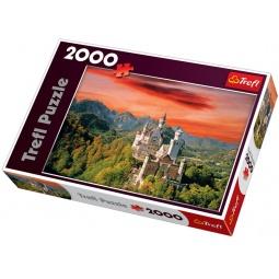 Купить Пазл 2000 элементов Trefl «Замок Нойшванштайн»